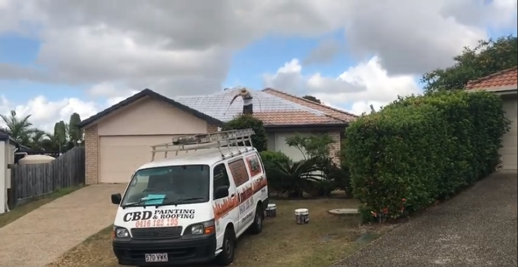 Roof Painting North Brisbane